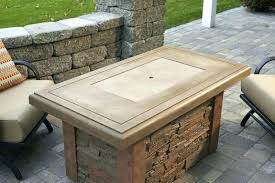 sense round fire pit table with bcp