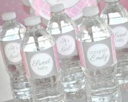 Water Bottles To Decorate Elephant Baby Shower Water Bottle Labels Girl Baby Shower 31