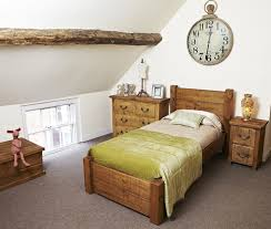 atlas chunky oak hidden home. rugged single bed made from chunky rustic pine in the uk also availale atlas oak hidden home e