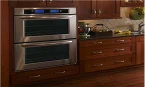 double kitchenaid convection microwave wall
