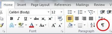 microsoft word icon how to remove the extra symbols in microsoft word