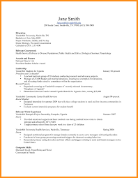Public Health Resume Objective Examples 11 12 Biology Resume Objective Examples Elainegalindo Com