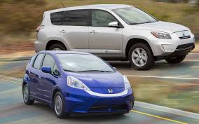 2013 Honda Fit EV vs. 2012 Toyota RAV4 EV Comparison - Motor Trend