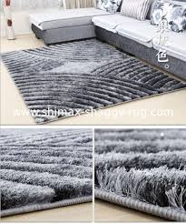 carpet for living room. shimax 5d popular/modern polyester shaggy carpet for living room