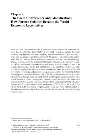 economic globalization essay globalisation essay essay  the great convergence and globalization how former colonies inside