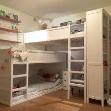 Kids Room: Cool White Stuva Bed Ideas - IKEA Loft Beds