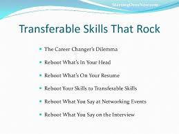 Transferable Skills Example Resumes Resume Checklist Of Transferable Skills Sample Review For