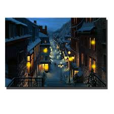 canvas wall art with led lighted up san francisco railroad view picture frame canvas picture oil painting for home decorative in painting calligraphy from  on lighting up wall art with canvas wall art with led lighted up san francisco railroad view