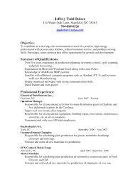Production Planner Resume Nmdnconference Com Example Resume And