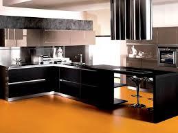 elegant black kitchen cabinet paint color