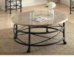 small marble top table oval coffee round bistro sm danish modern round marble top coffee table critchfield