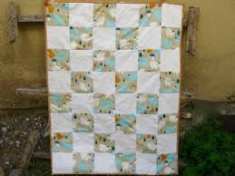 One Patch Organic Baby Quilt | FaveQuilts.com & One Patch Organic Baby Quilt Adamdwight.com