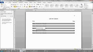 Change Table Of Contents Format In Word 2010