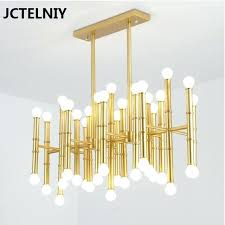 led bulbs bamboo pendant lamp contemporary contracted wrought iron rectangular meurice chandelier jonathan adler antique brass