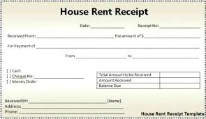 rent application form doc house rent receipt doc rental receipt format receipt of house rent