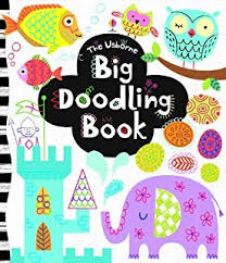 the usborne big doodling book activity books