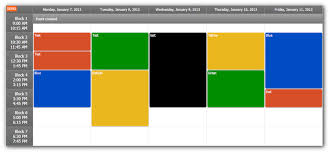 Timetable Tutorial Asp Net C Vb Net Daypilot Code