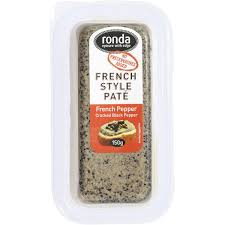 Ronda Pate Mini French Pepper 150g   Woolworths