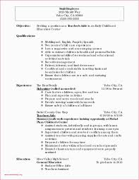 resume for teachers assistant 50 fresh teaching assistant covering letter example all