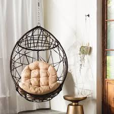 indoor swing furniture. Destiny Tear Drop PVC Swing Chair With Stand Indoor Furniture I