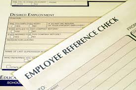 verifying employment is not just a good idea fordyce letter bigstock employee reference check form