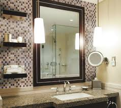 glitz metal leaf pewter tile bathroom sink backsplash