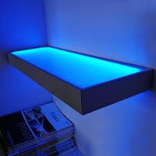 12v glass shelf wall mounted display led light cupbroad