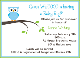 Baby Shower Invite Text Free Printable Owl Baby Shower Invitations Free Baby
