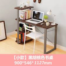 Small desk with bookshelf Storage Lightbox Moreview Chinahaocom Usd 21133 Simple Modern Computer Desk Home Desktop Bookcase Small