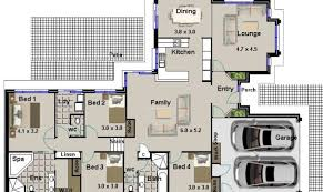 22 genius house plans 4 bedrooms