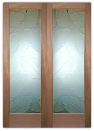etched glass doors glass front doors etched glass tropical decor etched glass door panels for