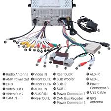 2007 2010 ford expedition stereo installation car dvd player 2007 Ford Expedition Radio Wiring Harness connect the harnesses to the back of the new seicane stereo 2007 ford expedition radio wiring diagram