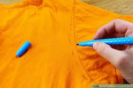 How To Make Shirt How To Make A Cutoff Shirt 8 Steps With Pictures Wikihow