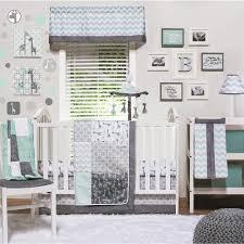 warm baby boy nursery bedding set