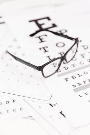 Snellen Chart Free Download Close Up Of Corrective Spectacle On Snellen Chart Photo