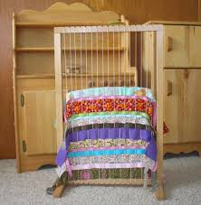 using a large weaving loom with kids such a fun way to use ss of