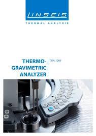 Tga Pt1000 Tga Thermogravimetry Thermal Balance