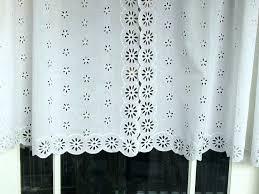 awesome white eyelet curtains marine white eyelet curtains white eyelet plain white lined voile curtains