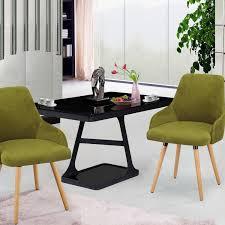 dining chair design. Joveco Modern Velvet Dining Chair Green Design