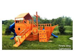 pirate outdoor ship nz ark outside play set outdoor wooden playground in pirate ship shape kindergarten and preschool playset plans
