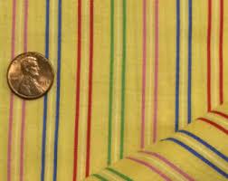 Yellow stripe fabric   Etsy & Yellow Cotton Fabric / Yellow Stripe Fabric / Cotton Fabric / Cranston  Print Works / Quilting Adamdwight.com