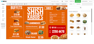 How To Design A Digital Menu Board Digital Menu Board App Now Available For Enplug