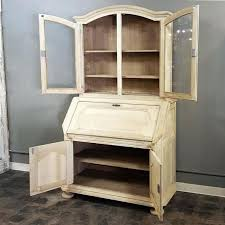 country secretary desk rustic antique country french hand crafted stripped oak 3 french country deluxe secretary