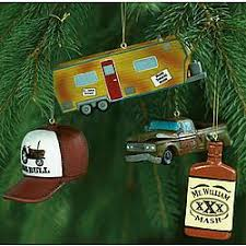 Redneck Christmas Ornament Set - FindGift.com