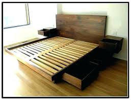 storage bed in bedroom plans diy queen size free platform captains and easy