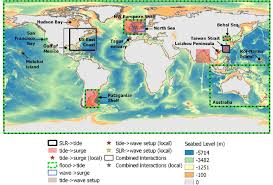 Global Bathymetry Seabed Level M From The General