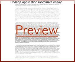 College Application Essay Custom College Application Roommate Essay Research Paper Service
