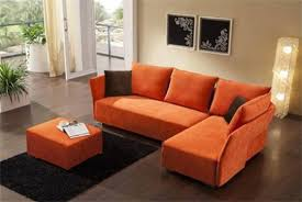 enchanting orange sectional sofa with microfiber wwwgradschoolfairs orange sectional sofa s39