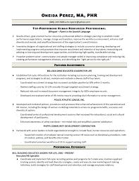 Workforce Specialist Sample Resume Best solutions Of Hr Generalist Sample Resume Gallery Creawizard for 1