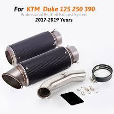 2019 <b>Slip On Duke 125</b> 250 390 RC390 Motorcycle Exhaust Tip ...
